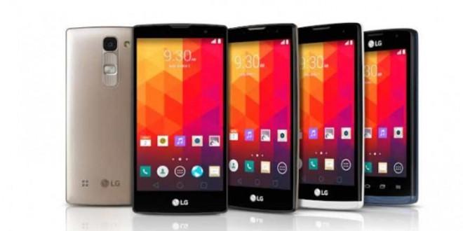 LG presenta quattro nuovi smartphone