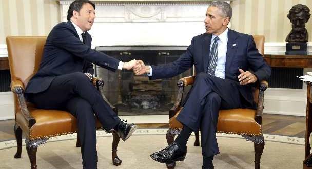 Renzi-Obama, intesa siglata alla Casa Bianca