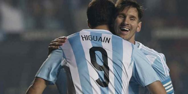 Argentina-Paraguay 6-1, albiceleste incontenibile