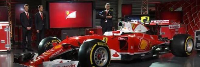 Formula 1 Ferrari SF16-H svelata