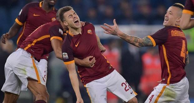 Serie A: Roma-Fiorentina 4-1, terzo posto solitario